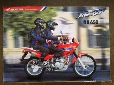 Depliant Honda Dominator