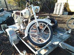 Moto Peugeot Movesa 125cc 2T Anno 1959