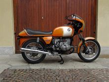 BMW R90 S Daytona Orange restaurata