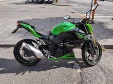 Kawasaki Z300 del 2015 Km.16600 perfetta, qualsiasi prova