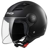 LS2 Casco Moto Of562 Airflow, Matt Black Long, M di LS2